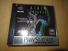 ALIEN TRILOGY SONY PS1  UK PAL mint collectors