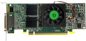 SFF QUAD MATROX QID-E128LPAF PARHELIA-LX 128MB PCIE WINDOWS 7 GRAPHICS CARD
