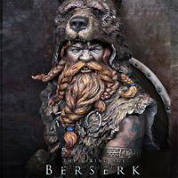 1/10 Viking Berserk Resin Bust Model Kits Unpainted GK Unassembled