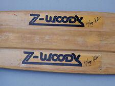 1977 Vintage Z-Woody Shogo Kubo Complete Z-Flex Skateboard - Kryptonics 65mm ACS