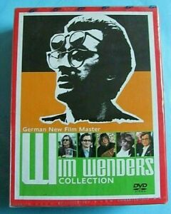 WIM WENDERS Collection DVD 29 Discs NEW SEALED Region 1 *see below RARE