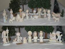 Precious Moments 25 Piece Nativity Set Christmas Figurines Ornaments
