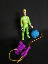 The Real Ghostbusters 1989 Egon Spengler Slimed Heroes Wave w/ Proton Pack Ghost