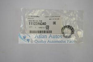 Genuine Subaru 90-11 Oil Pan Gasket Seal Impreza WRX Legacy Forester 11122AA340