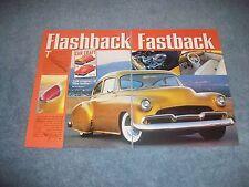 """1949 Chevy Fleetline Sedan Mild Custom Article """"Flashback Fastback"""""""