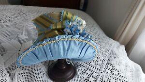 Absolutely gorgeous brand new hat/bonnet in RegencyJane Austen/Bridgerton style.