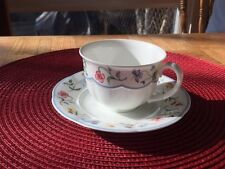Villeroy & Boch China Mariposa Mettlach Cup And Saucer..Multiple sets available