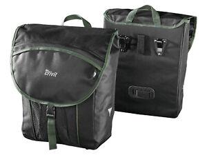 Fahrrad Gepäcktaschen Set Fahrradgepäcktasche Kuriertasche 2 Stück