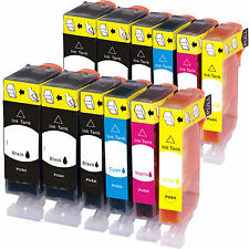 12pk PGI-225 CLI-226 Ink For Canon Pixma iP4820, iP4920,  iX6520