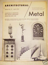 ARCHITECTURAL BULLETIN  CLASSIFICATION OF METAL PRODUCT