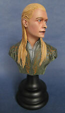 SIDESHOW WETA LEGOLAS THE LORD OF THE RING  Buste 1/4 REPAINT LOTR.
