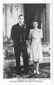 There Royal Highnesses PRINCESS ELIZABETH AND DUKE OF EDINBURGH
