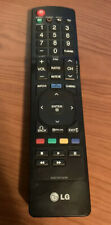 LG Remote Control Model  #AKB72915239 (Used, Tested + Working)