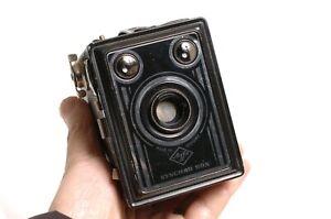 AGFA SYNCHRO BOX 6x9 cm medium format camera. Use 120 film Vintage works fine!