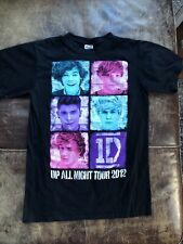 Harry Styles One Direction Up All Night 2012 Tour 1D Concert Music T Shirt small