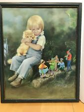 """LYNN LUPETTI """"Childhood Friends"""" Numbered And Signed Print 649/1000"""