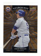 2009 UD - David Wright - New York Mets - Starquest - 1st Edition - #SQ-9