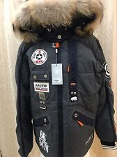 Bogner ski jacket Dagur, Down insulated tea wool Mens Winter Size EU 52, 42 US L