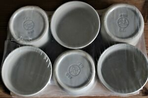 Würzfleischschälchen DDR '79, 6 Stück Keramik, Paketpreis