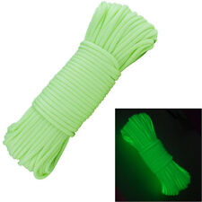 Glow In The Dark Golden 550 Cord 100ft Paracord Lanyard Type III 7 Strand Camp