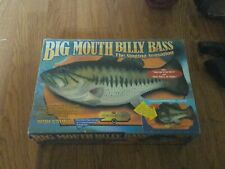 Big Mouth Singing Billy Bass 1999 Gemmy Take Me To The River&Dont Worr Be Happy