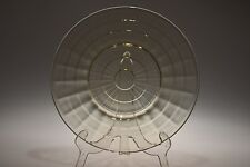 "1929 - 1933 BLOCK OPTIC Anchor Hocking TOPAZ / YELLOW - 8"" Salad Plate"