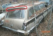 1961 OLDSMOBILE CUTLASS F85 WAGON REAR ROOF TRIM PROJECT PARTS OLDS