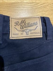 BN RM Williams Moleskin Jeans Blue 8