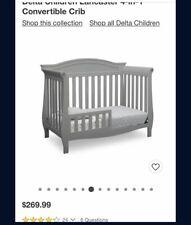 Delta Children Lancaster 3 in 1 Convertible Crib