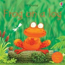 Usborne Book (new) Phonics Reader FROG ON A LOG
