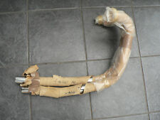 TRIUMPH T100 EXHAUST PIPES 1954-57  BRITISH MADE