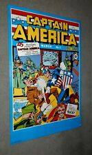 SUPER HERO 4 POSTERS BATMAN SUPERMAN CAPTAIN AMERICA JIM LEE KIRBY ART 24X36