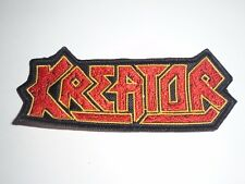 KREATOR THRASH METAL EMBROIDERED PATCH