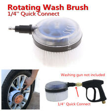 Portable Plastic Car Pressure Washer Rotating Wash Brush Auto Care Washing Tool