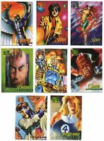 1995 Marvel Masterpieces X-Men Avengers Canvas Cards You Pick Finish Your Set
