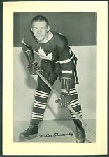 Walter Stanowsky 1934-43 Group 1 Beehive '34 Hockey Photo NM Toronto Maple Leafs