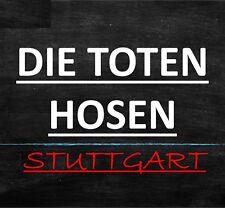 DIE TOTEN HOSEN STUTTGART Cannstatter OPEN AIR TICKETS KARTEN *Sa, 21.07.2018