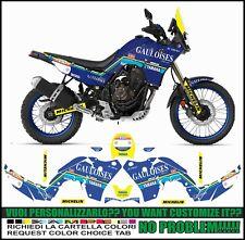 kit adesivi stickers compatibili TENERE 700 T7 DAKAR GAULOIS