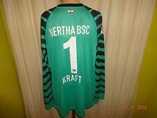 """Hertha BSC Berlin Nike Torwart Trikot 2010/11 """"DB"""" + Nr.1 Kraft Gr.XXL Neu"""