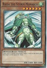 YU-GI-OH: RAIZA THE STORM MONARCH - SR01-EN009 - 1st EDITION