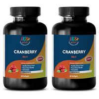 12600mg Softgels - CONCENTRATED 50:1 CRANBERRY - Dietary Cranberry Supplement 2B