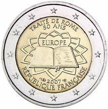 Frankreich 2 Euro 50 Jahre Römische Verträge Münze 2007 unzirkuliert