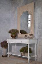 Vintage Spiegel Weiss Wandspiegel Antik Barock Shabby Chic Weiss Mit Patina