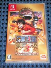 NEW Nintendo Switch ONE PIECE Kaizoku Musou 3 DX Deluxe ed w/Complete DLC JAPAN