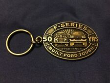Vintage Metal Ford F-Series Truck 50 Years Anniversary 1998  Key Chain NEW
