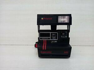 polaroid supercolor 645 fotocamera istantanea vintage film 600