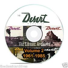 Desert Magazine, 1961-1985, Volume 2, Back Issues, Treasure Hunting CD DVD B58
