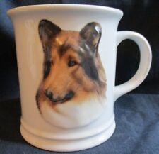 Collie Dog 3-D Coffee Mug Cup 2002 Xpres Best Friend Originals Barbara Augello