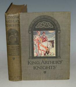 Henry Gilbert King Arthurs Knights WITH 16 Colour Plates Walter Crane Raphaelite