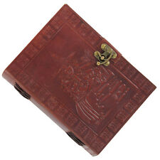Medieval Witching Hour Handmade Leather Journal Writing Diary